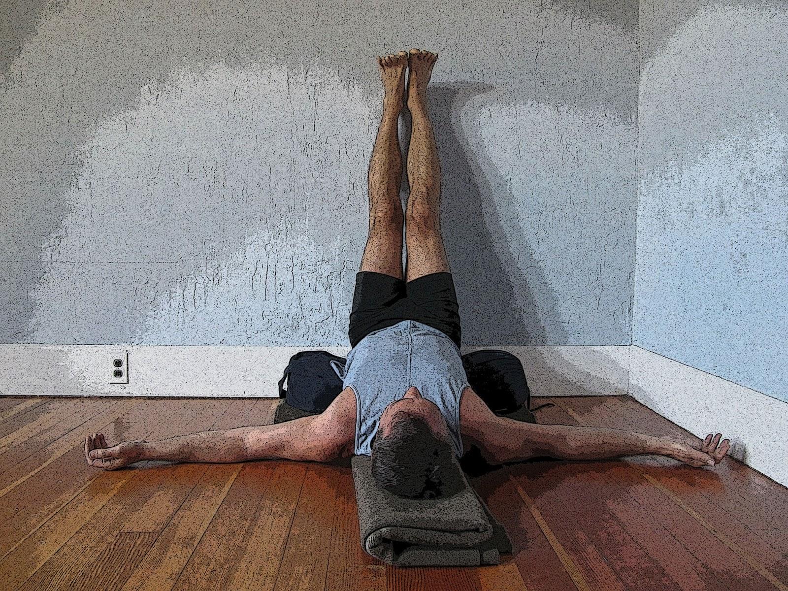 Featured Pose Legs Up the Wall Pose Viparita Karani   Yoga ...