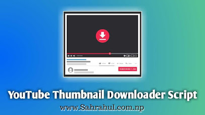 How To Create YOUTUBE THUMBNAIL Downloader Website In Blogger
