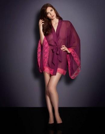 Agent Provocateur, Alessia Kimono, Luxury Night Gowns, Kimono, Silk Kimono