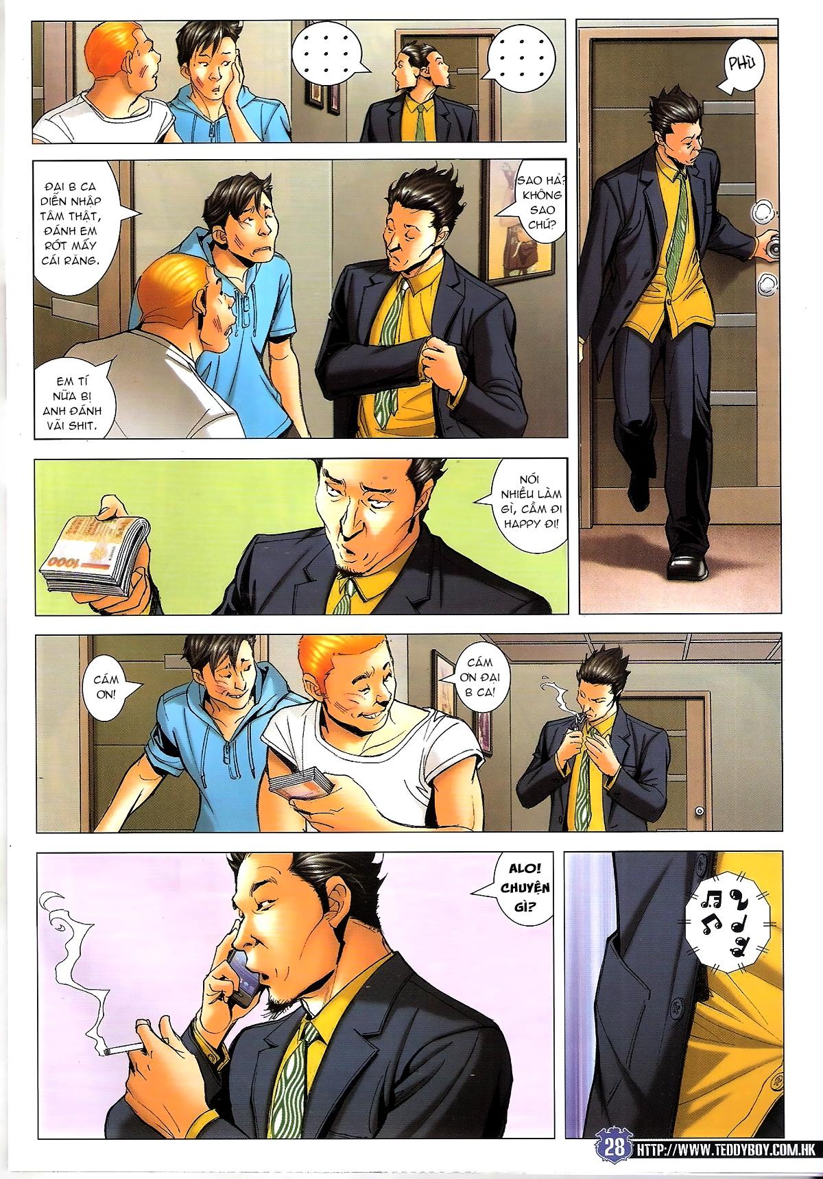 Người Trong Giang Hồ chapter 1645: làm khó đại b chảy trang 26