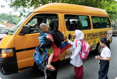 Khidmat Bantuan Bas Sekolah Percuma