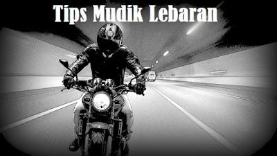Tips aman mudik lebaran naik motor