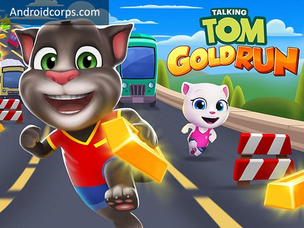 Talking Tom Gold Run Mod Apk v 1.3.0.522 (Gold Bars