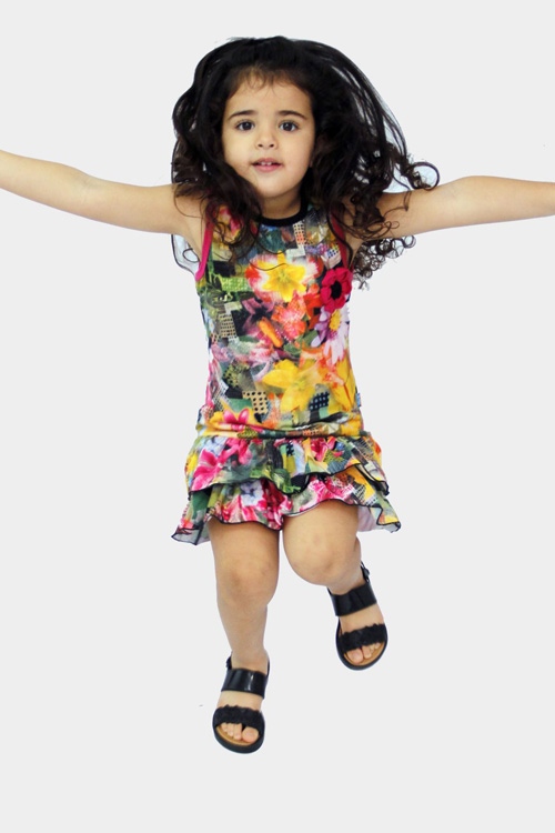 moda verano 2018 vestidos para nenas.