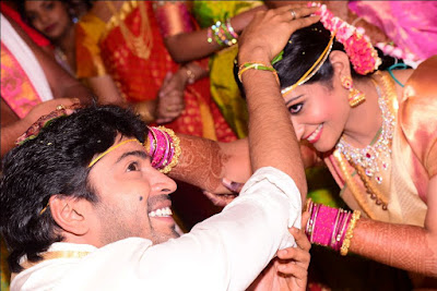 Allari Naresh and Virupa wedding rituals