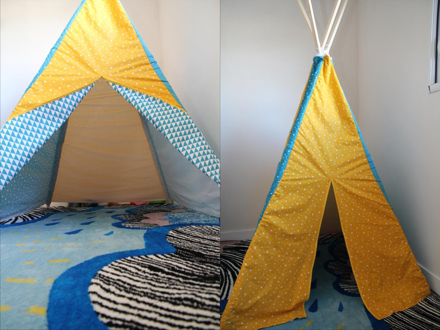 laisse luciefer les petits secrets couture tuto tipi pour enfants. Black Bedroom Furniture Sets. Home Design Ideas