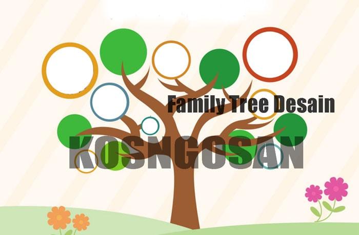 Download Contoh Desain Family Tree PNG dan PSD Beserta Cara Pembuatannya