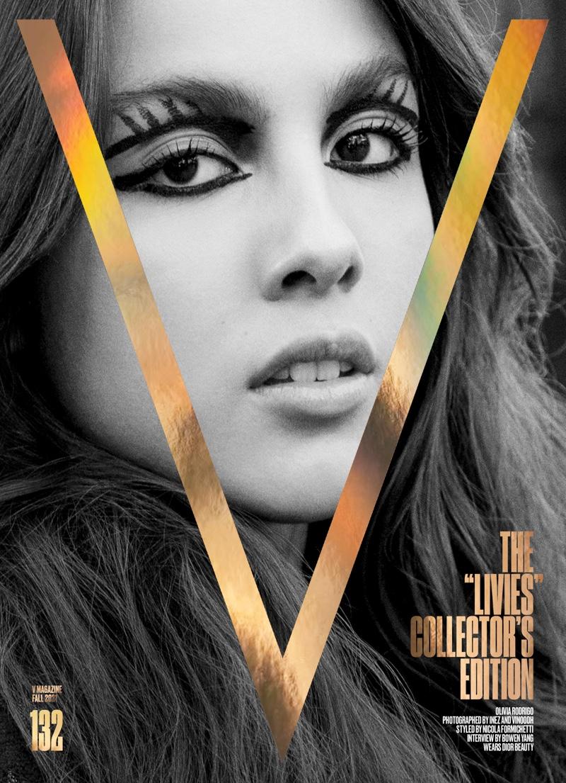 Olivia Rodrigo is retro glam for V Magazine