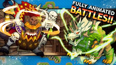 تحميل لعبة وحوش القتال Neo Monsters مهكرة للأندرويد