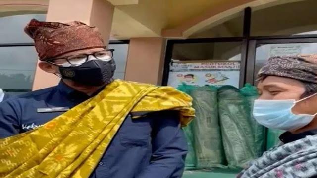 Sandiaga Kabulkan Permintaan Pengurus Masjid di Semeru dalam 2 Jam