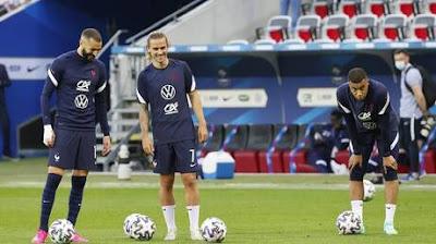"""نشوب أزمة بين مهاجمي منتخب فرنسا قبيل مواجهة ألمانيا في """"يورو 2020"""""""