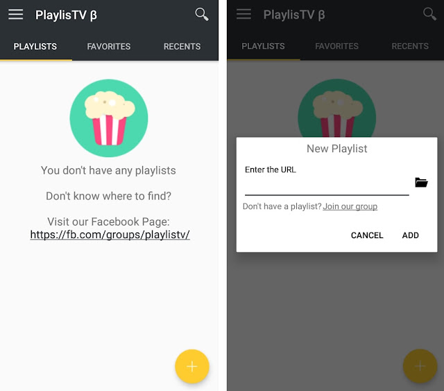 Reproductor de listas M3U PlaylisTV Beta