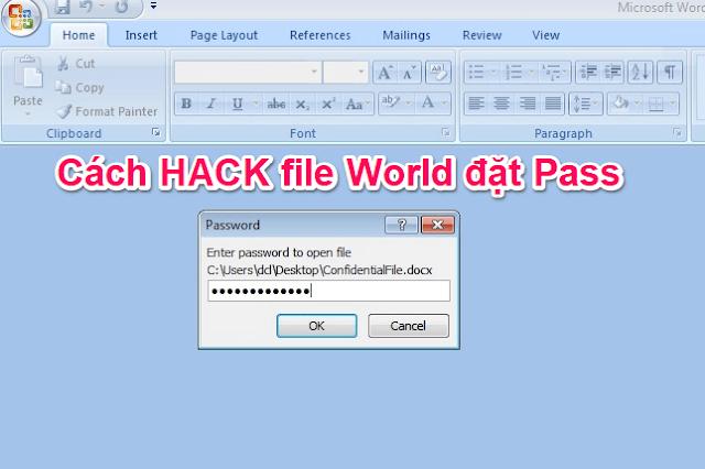 Hướng dẫn mở (hack) file World có đặt mật khẩu