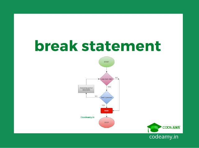 c break