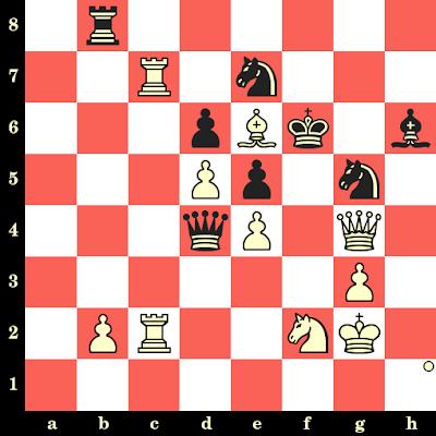 Les Blancs jouent et matent en 4 coups - Ian Rogers vs Alexander Sznapik, Thessalonique, 1988