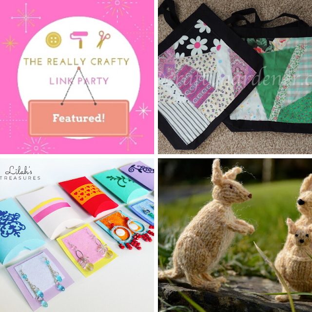 The Really Crafty Link Party #211 featured posts