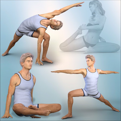 Z Spiritual Journey - Poses for Genesis 2 - 3 Female and Male