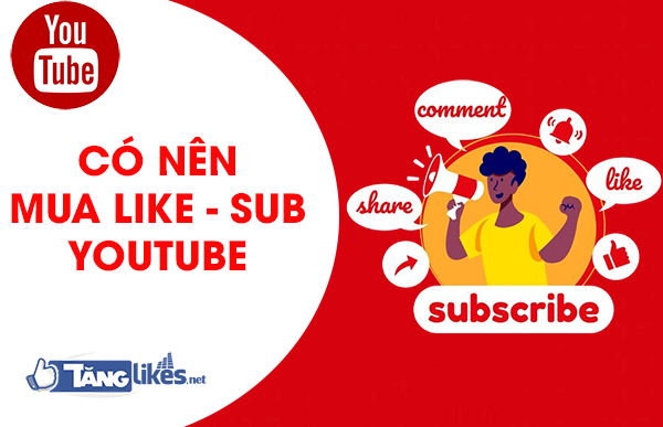 mua sub youtube