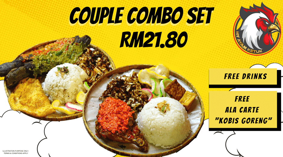MY AYAM KETUK Announced The Best Dishes For Family and Couple In Klang Valley