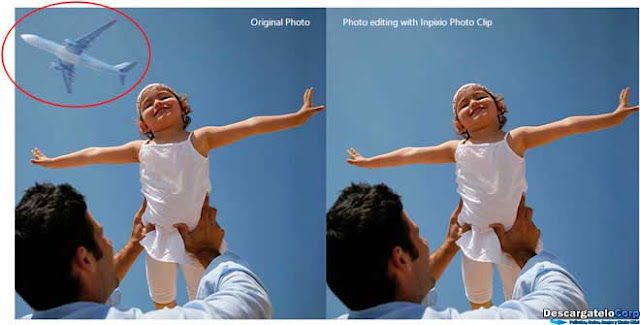 InPixio Photo eRaser Elimina elementos de tus fotos facilmente