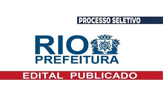 Prefeitura do RJ anuncia novo EDITAL com 800 vagas (inscrições Online). Saiba Mais