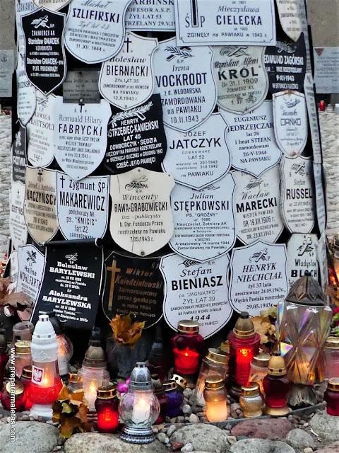 memoriales para visitar en Varsovia