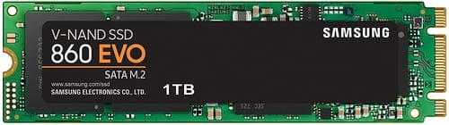 Review Samsung 860 EVO SSD 1TB - M.2 SATA Internal