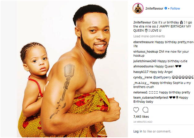 Stella Dimoko Korkus com: Singer Flavour And Ex Beauty Queen