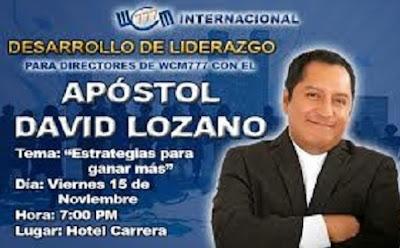 David Lozano seudopastor de la iglesia Fuente de Bendición