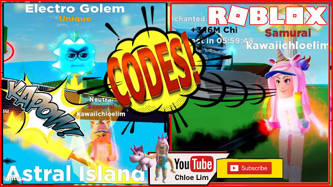 Roblox Ninja Legends Gameplay! New Codes! Going to Astral Island!