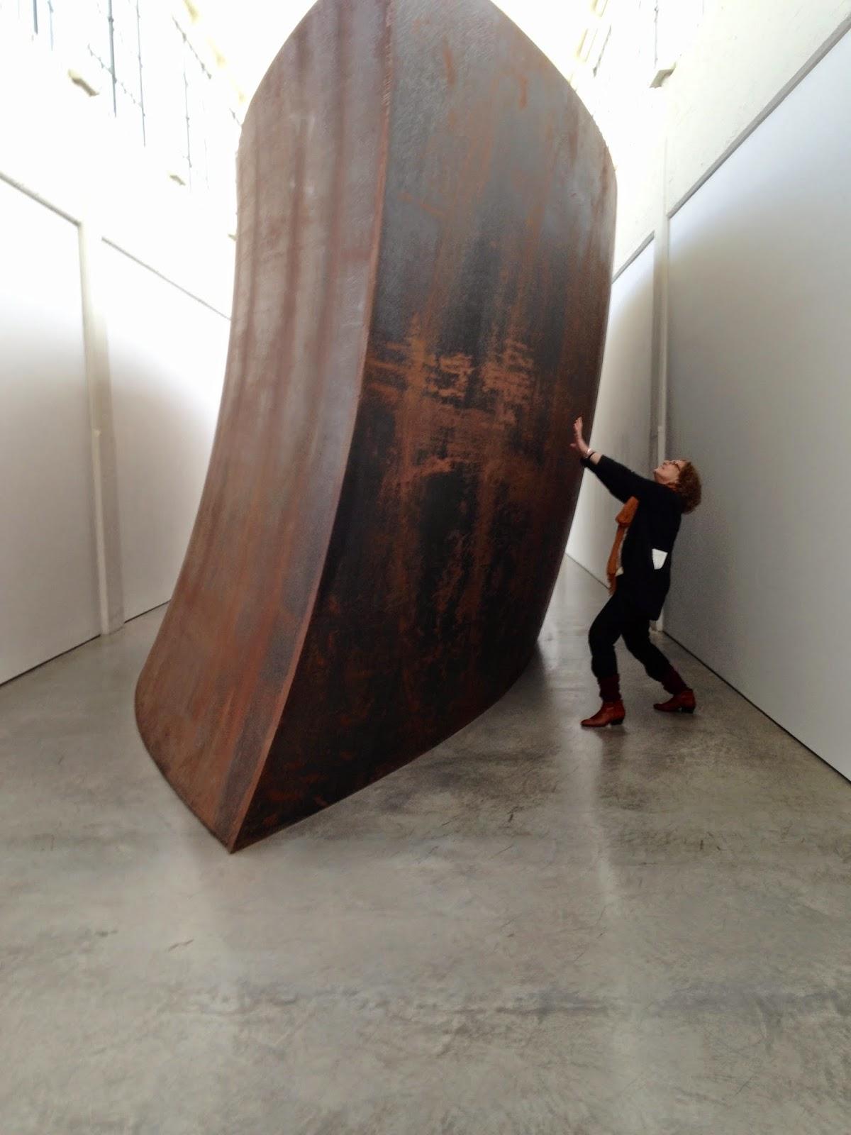 travels: Richard Serra, Dia:Beacon, Beacon, New York