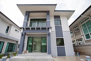 แบบบ้านสองชั้นราคา 1.55 ล้านบาท