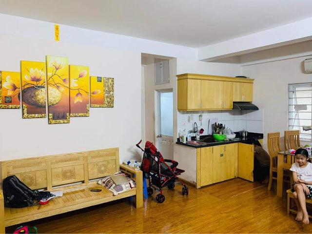 Bán căn hộ 2PN-55m2, Sổ hồng chính chủ, trả góp 70% trong 15 năm