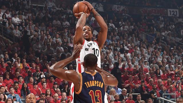 DeMar DeRozan, Toronto Raptors & Tristan Thompson, Cleveland Cavaliers