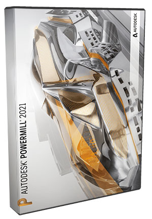 Autodesk Powermill Ultimate 2021 poster box cover