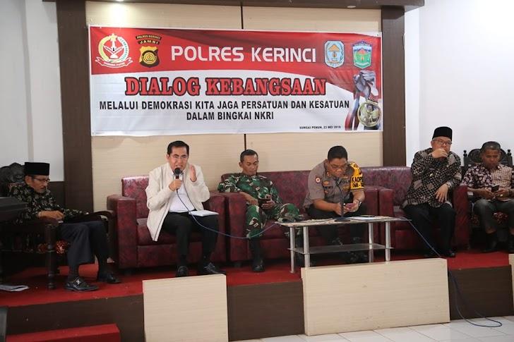 Wako AJB Jadi Narasumber Dialog Kebangsaan