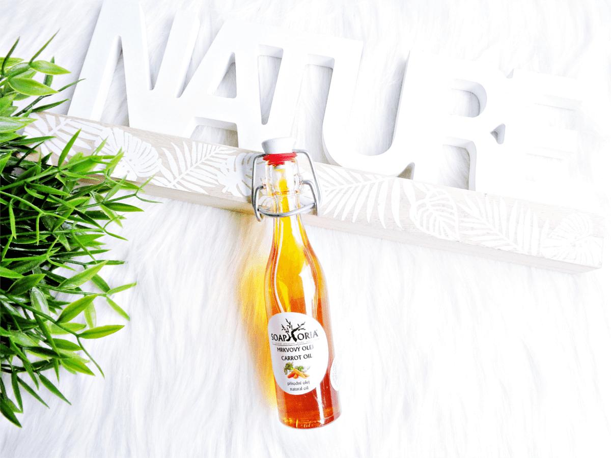 Olej z marchwi Soaphoria Organic odżywczy olejek do twarzy, ciała i włosów