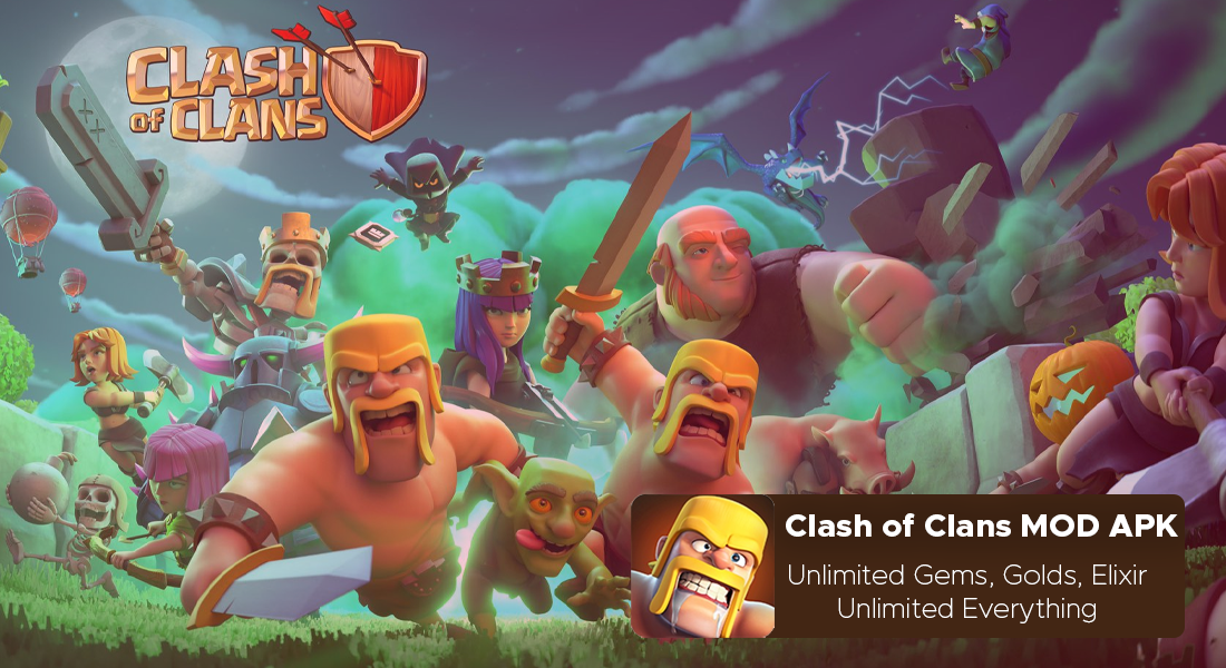 Clash of Clans MOD APK 13.576.9 {Unlimited Everything}