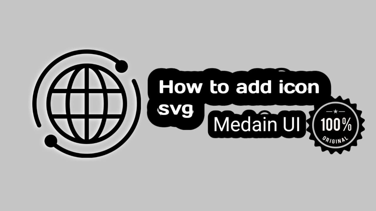 icon list SVG for customisation median UI Template