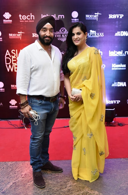Gagan Sahani with Sonal Jindal