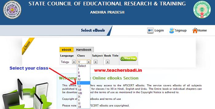 AP SCERT e-books, Hand Books, Textbooks | APSCERT ebooks