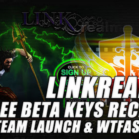 Linkrealms Beta Key Received ★ STEAM Launch Coming ★ Will I Need To Use WTFast In Linkrealms?