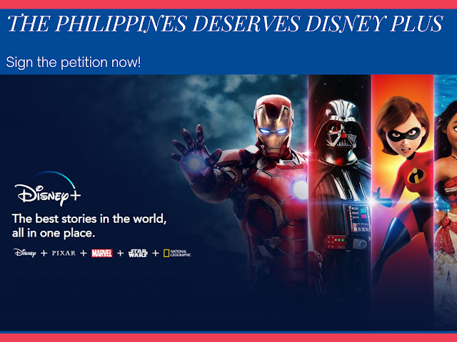 Sign the Petition to Make Disney Plus Available in the Philippines