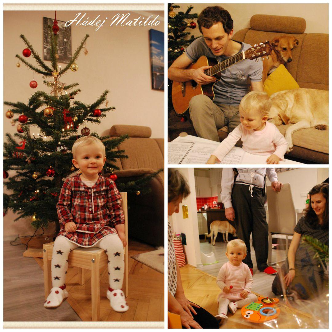 vánoce, vánoce s batoletem, Matilda a Vánoce