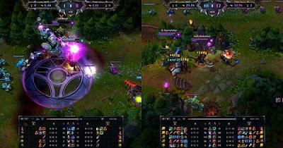 Sự kết hợp giữa game thủ cùng đồng đội tác động lớn đến cục diện của trận đấu