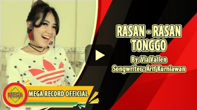 Download Lagu Via Vallen Rasan Rasan Tonggo  Mp3 Gratis