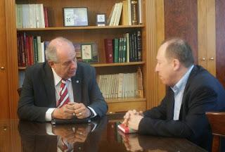 Ο Υφυπουργός Επικρατείας Τέρενς Κουίκ στην Αντιπεριφέρεια Καστοριάς (φωτο)