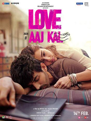 Love Aaj Kal 2020 Hindi Movie 720p WEB-DL 1.4GB ESubs poster