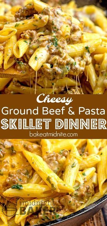 This beefy and cheesy skillet dinner is so good, it's worthy of company!