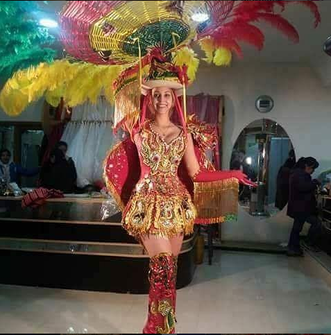 Image result for miss bolivia antonella moscatelli national costume